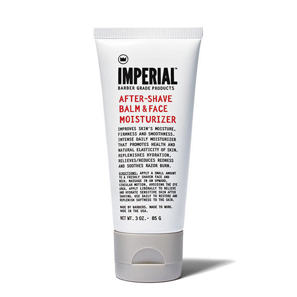 Imperial Barber Products - Aftershave Balm & Face Moisturizer