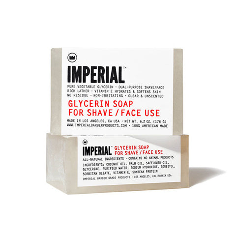 Imperial Barber Products - Glycerin Soap