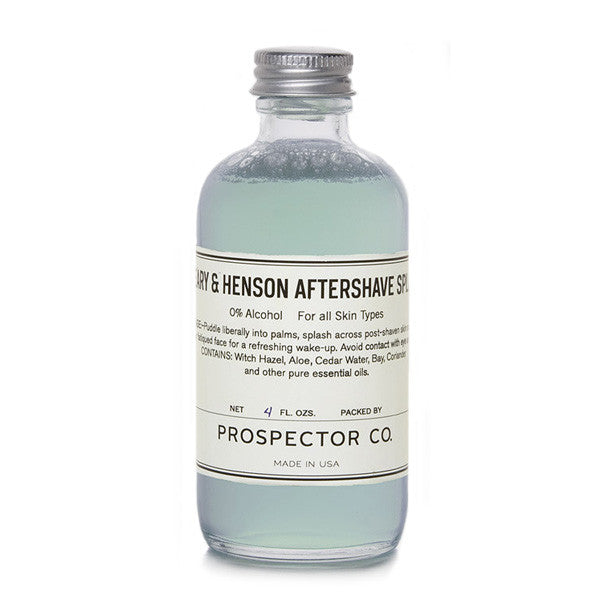 Prospector Co. - Peary & Henson Aftershave