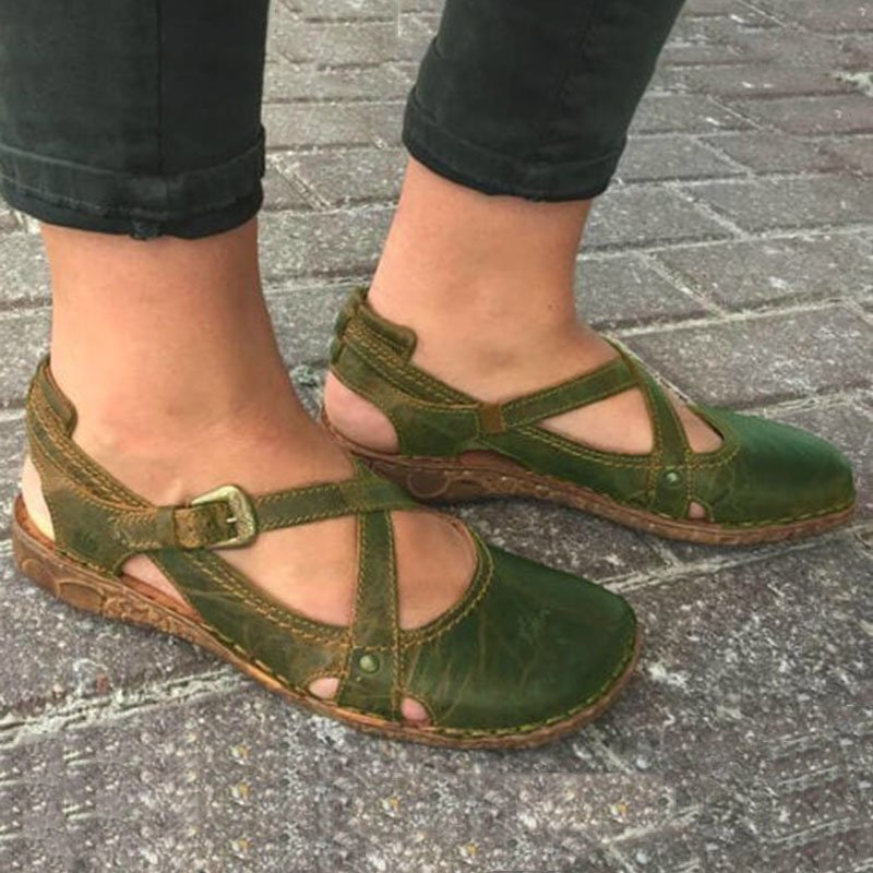 Summer Flat Heel Casual Sandals