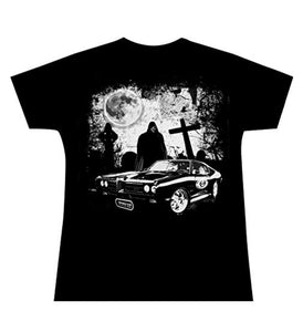 Death Car Reaper Girlie Official H15 Girly T-Shirt