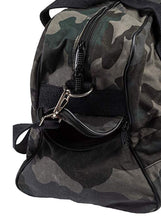 Laden Sie das Bild in den Galerie-Viewer, Black Camouflage BW Messenger Bag - Umhängetasche/Canvas Bag - H15 Reisetasche