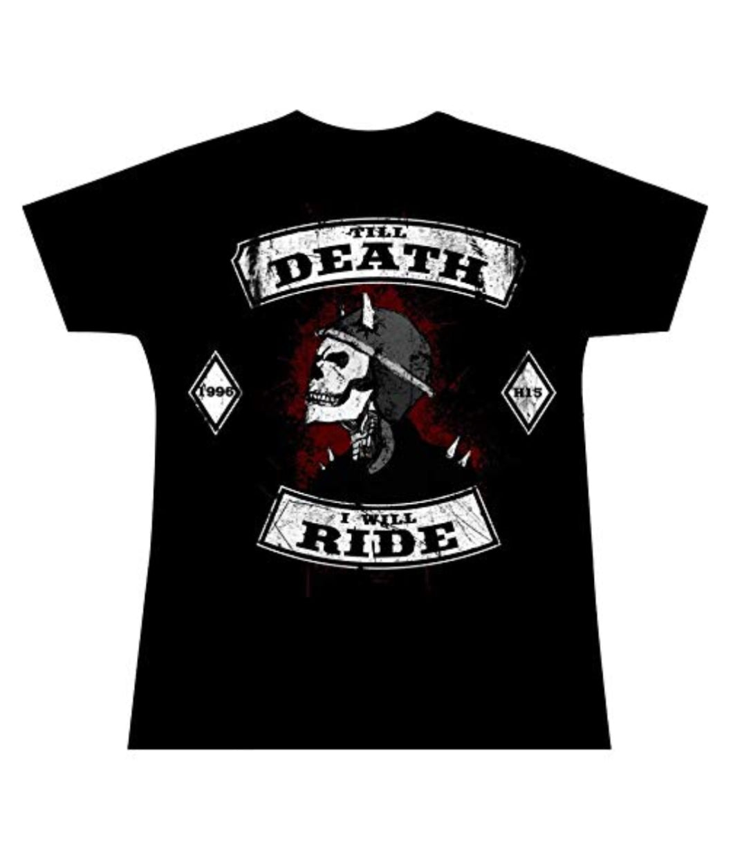 Till Death Rider Girlie Official H15 Girly T-Shirt