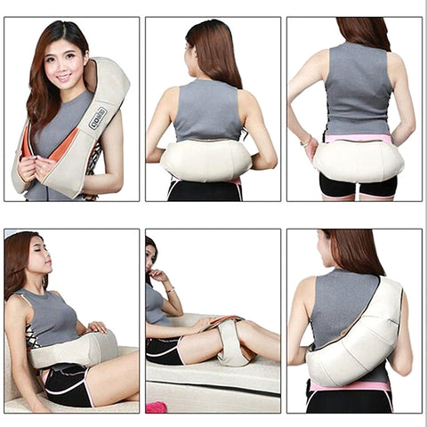 Shiatsu Massager Positions
