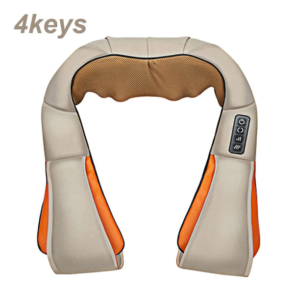 U-Shape Shiatsu Body Massager - Shoplethora