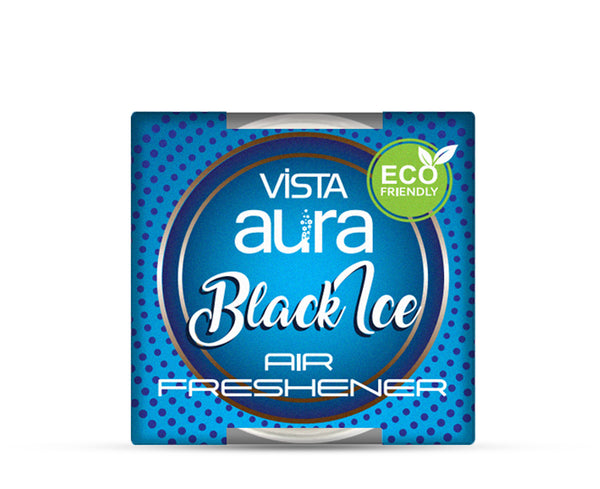 VISTA AURA AIR FRESHENER GEL BLACK ICE 50 gm