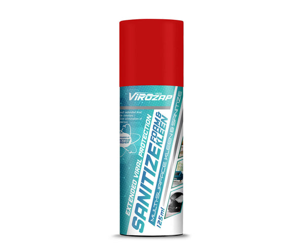 Vista Virozap Sanitize Foam & Kleen 125ml