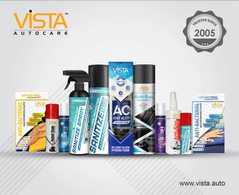 Vista Virozap Sanitize Foam & Kleen 450ml