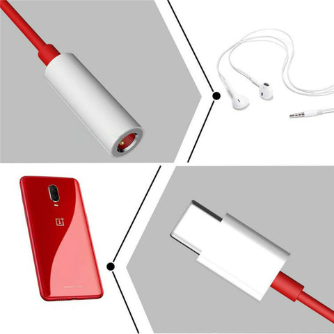 oneplus earphone adapter