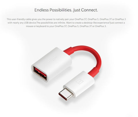 OTG Cable Pen drive Connector