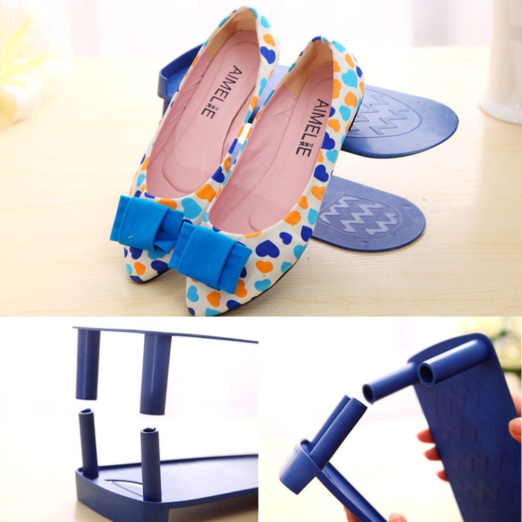 blue-shoe-organizer-for-shoe-rack