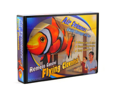 Inflatable flying fish