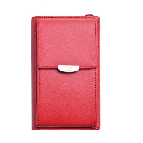 buy small women's red mobile purse wallet online
