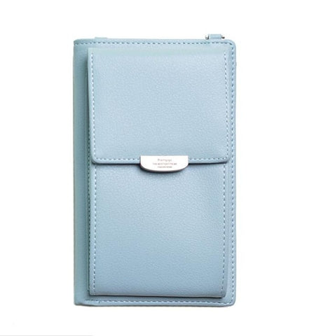 sky blue navy blue women's mobile purse buy online