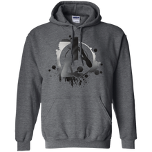 Load image into Gallery viewer, Unisex MadLife Icon Black to Grey Fade Sweatshirt
