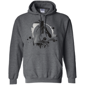 Unisex MadLife Icon Black to Grey Fade Sweatshirt