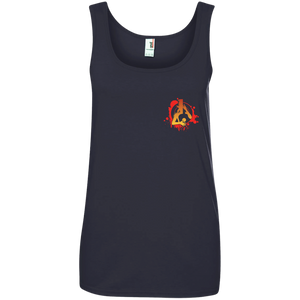 Ladies' Orange MadLife Small Icon Tank