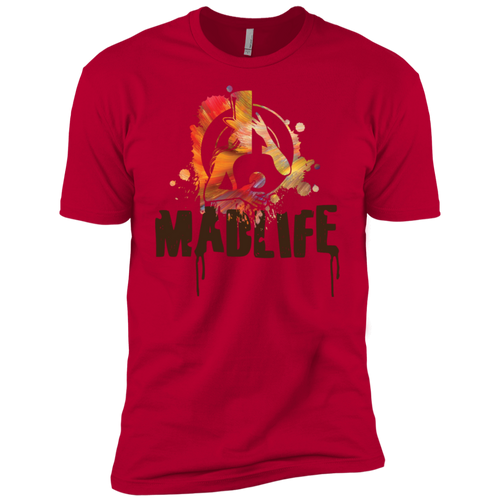 Men's Camo MadLife Logo Short Sleeve T-Shirt