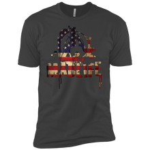 Load image into Gallery viewer, Men's USA Flag MadLife Logo Short Sleeve T-Shirt