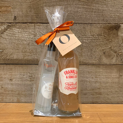 Apple + Rhubarb Mixer Gift Pack
