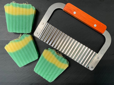 Soap Cutter - Crinkle Cut