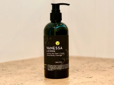 Lemon Tea Tree + Cedar Hand/Body Cleanser 250mL