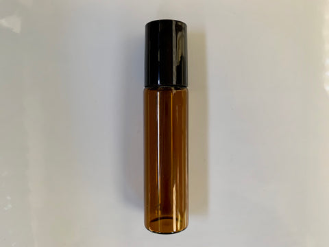 Amber Glass Roll On Bottle 15ml