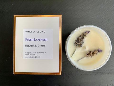 Fresh Lavender Candle