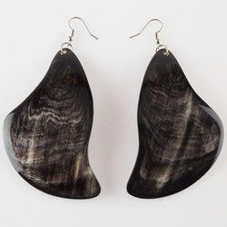 Zebu Horn Earrings