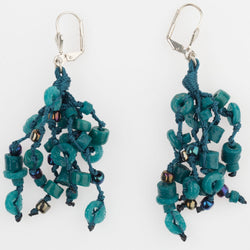 Knotted Beads Earrings