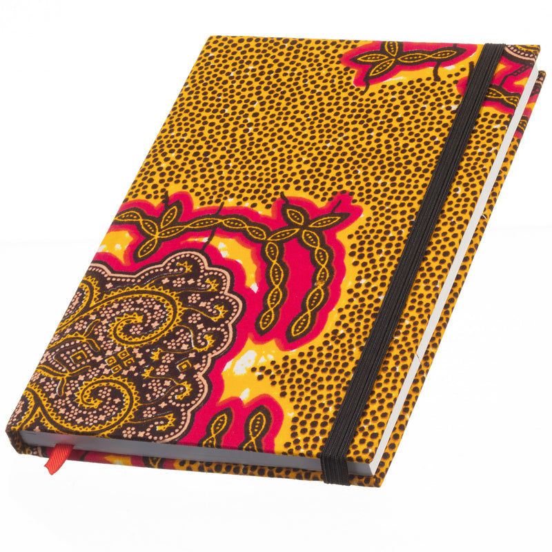 Ankara Covered Journal Medium