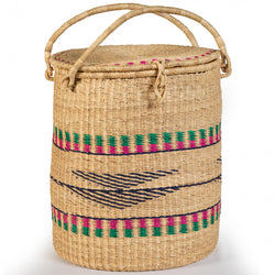 Asungtaba Laundry Basket with Lid