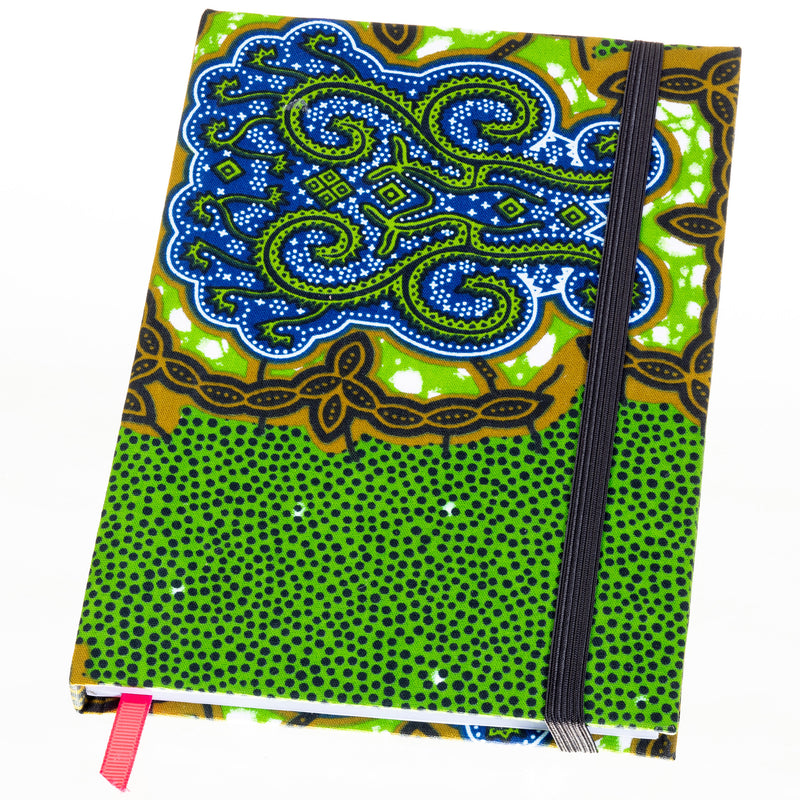 Ankara Covered Journal - Medium