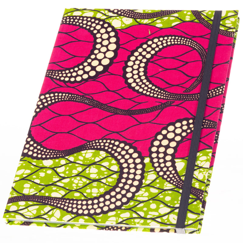 Ankara Covered Journal - Large