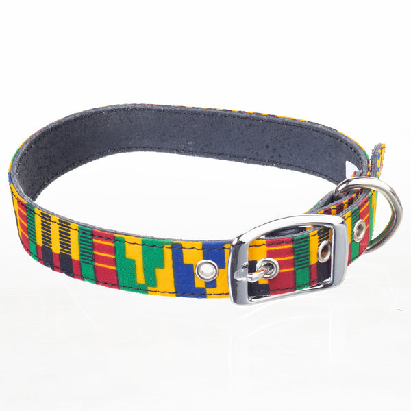 Ankara Dog Collar - Extra Large