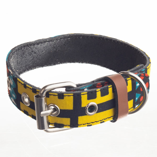 Ankara Dog Collar - Medium