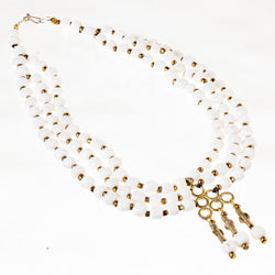 Berry Bead Necklace - White Currant