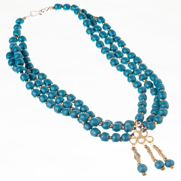 Berry Bead Necklace - Oregon Grape
