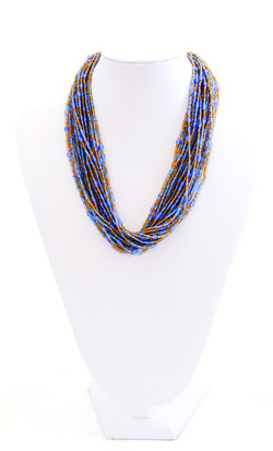 Multi Strand Bead Necklace