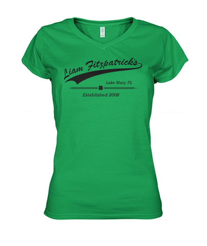 Liam Fitzpatrick's Flag Women's V-Neck
