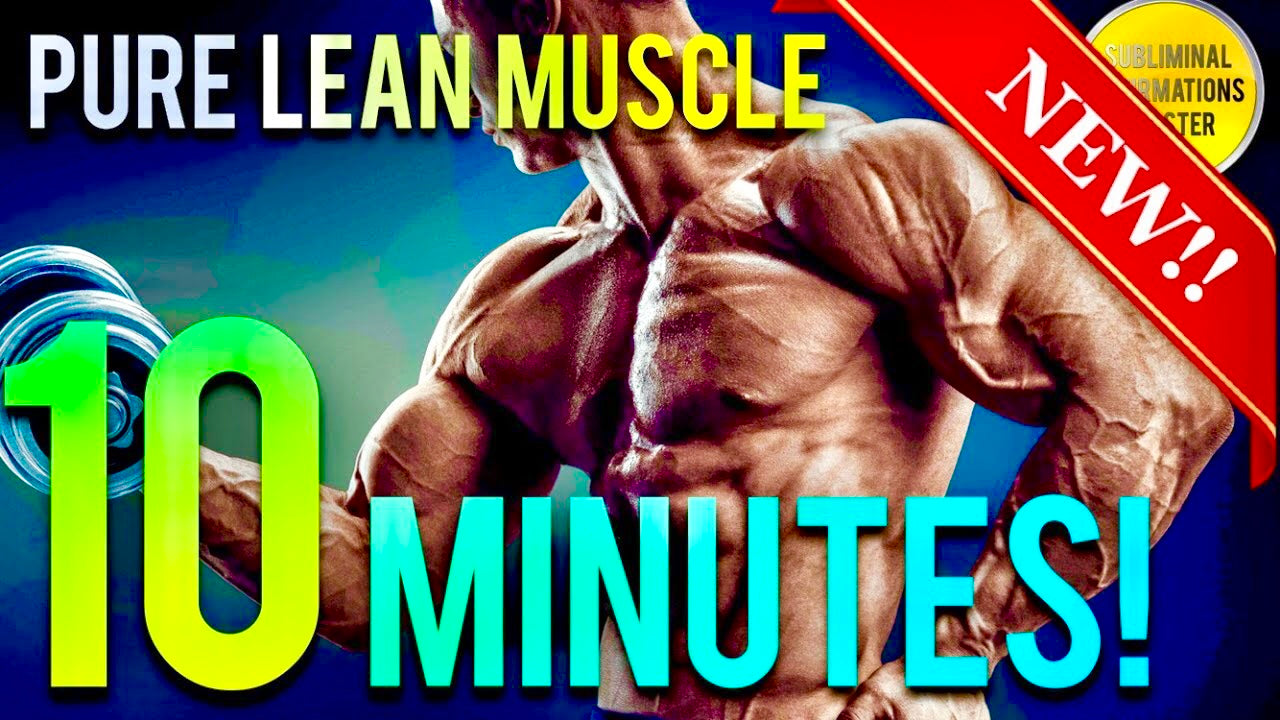 🎧GAIN 10 POUNDS OF PURE MUSCLE IN 10 MINUTES! SUBLIMINAL AFFIRMATIONS BOOSTER! RESULTS DAILY!