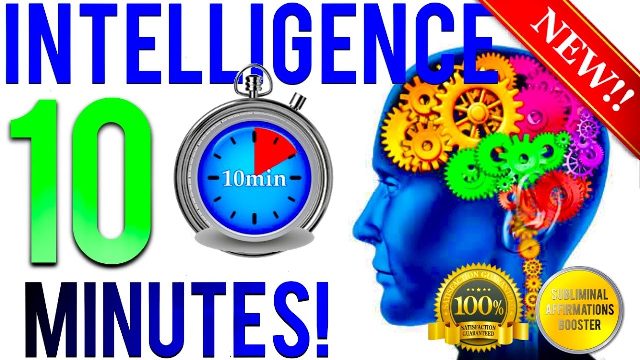 🎧GET EXTREME INTELLIGENCE IN 10 MINUTES! SUBLIMINAL AFFIRMATIONS BOOSTER! REAL RESULTS DAILY!