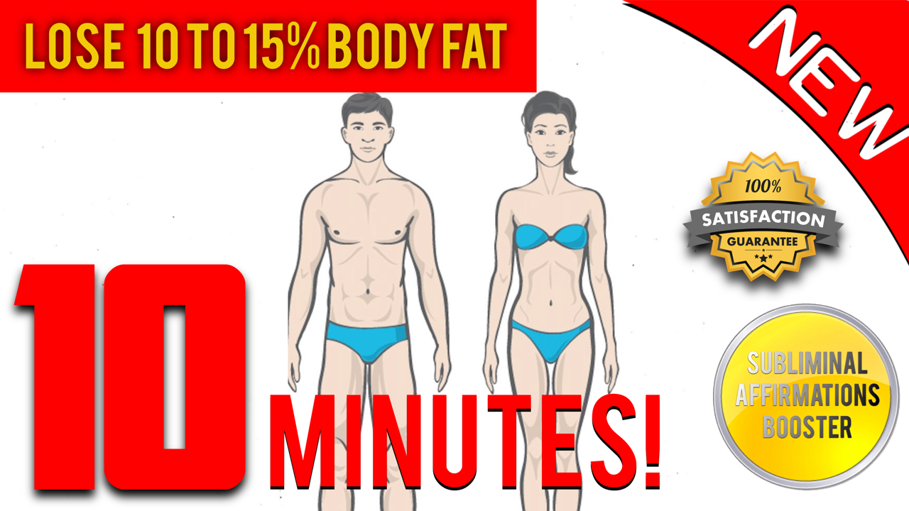 🎧 LOSE 10 TO 15 PERCENT BODY FAT + BOOST METABOLISM IN 10 MINUTES! SUBLIMINAL AFFIRMATIONS BOOSTER!