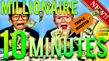 Load image into Gallery viewer, BECOME A MILLIONAIRE IN 10 MINUTES! SUBLIMINAL AFFIRMATIONS BOOSTER! REAL RESULTS DAILY!