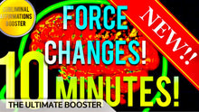 Load image into Gallery viewer, FORCE SUBLIMINAL CHANGES IN 10 MINUTES! SUBLIMINAL AFFIRMATIONS BOOSTER! REAL RESULTS DAILY!