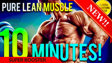 Load image into Gallery viewer, GAIN 10 POUNDS OF PURE MUSCLE IN 10 MINUTES! SUBLIMINAL AFFIRMATIONS BOOSTER! RESULTS DAILY!