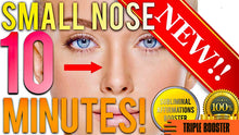 Load image into Gallery viewer, GET A SMALLER NOSE IN 10 MINUTES! SUBLIMINAL AFFIRMATIONS BOOSTER! REAL RESULTS DAILY! THE ULTIMATE BOOSTER!