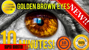 🎧GET GOLDEN BROWN EYES IN 10 MINUTES! SUBLIMINAL AFFIRMATIONS BOOSTER - BIOKINESIS