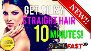 🎧GET SILKY STRAIGHT HAIR IN 10 MINUTES! SUBLIMINAL AFFIRMATIONS BOOSTER!