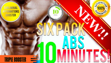 Load image into Gallery viewer, 🎧GET SIX PACK ABS IN 10 MINUTES! SUBLIMINAL AFFIRMATIONS BOOSTER! - ITS WORKS - RESULTS FAST!